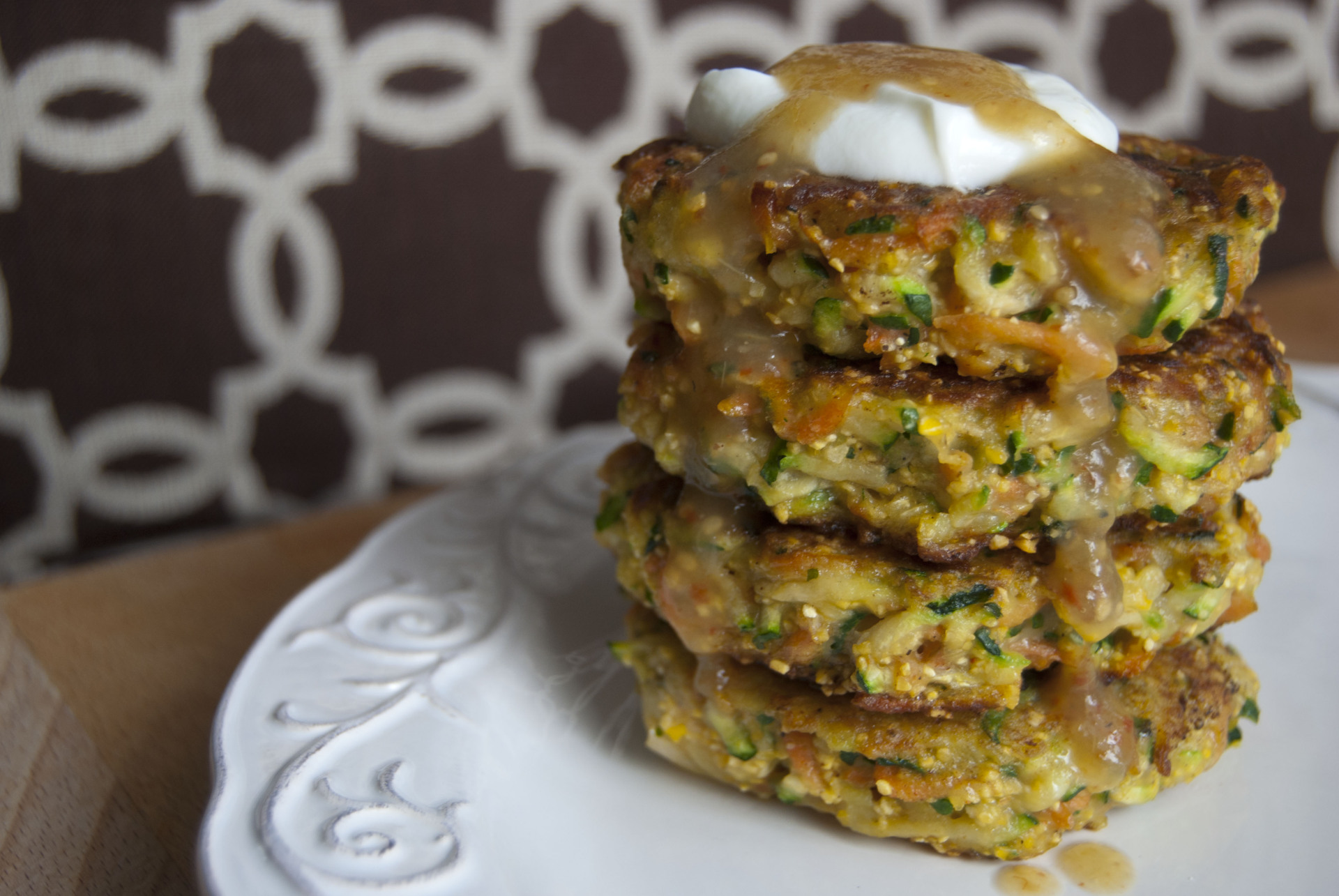 Zucchini Carrot Fritters