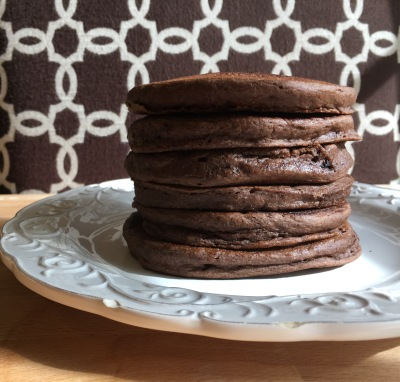 Chocolate Power Pancakes