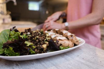 Marinated Lentils Salad