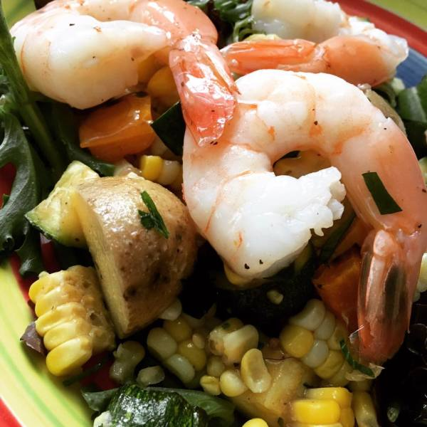 Shrimp Boil Salad