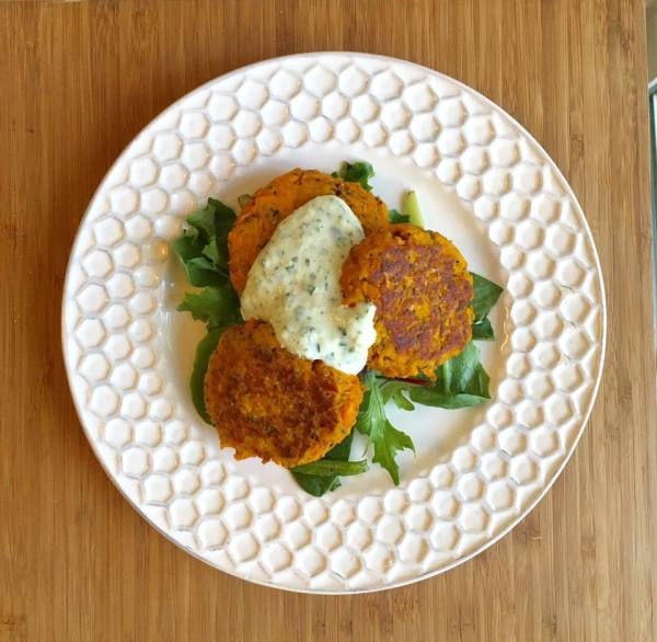 Sweet Potato Chia Cakes