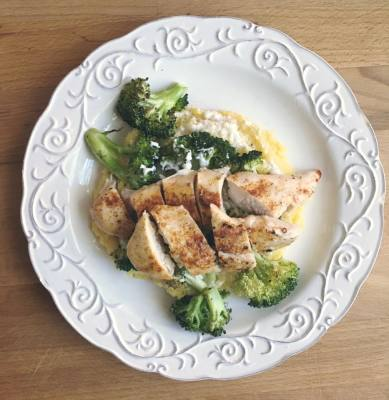 "Chicken and Broccoli ""Alfredo"" - Dairy Free and Delicious!"