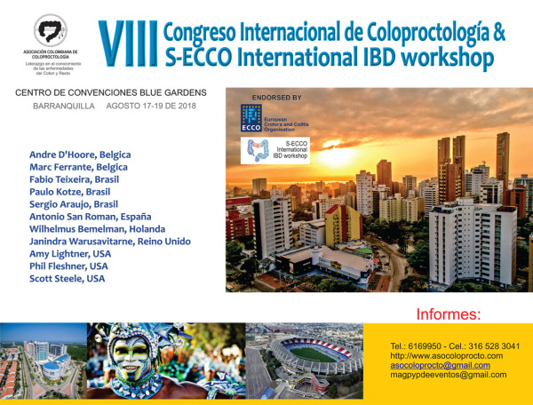 VII Congreso Internacional de Coloproctología & S-ECCO International IBD Workshop