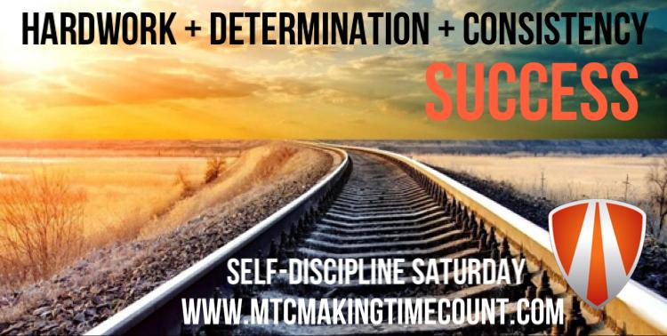Self-Discipline Saturday: Be Consistent