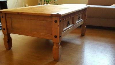 Table for living room - Detail