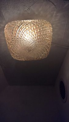 Small retro ceiling lamp nbr. 2
