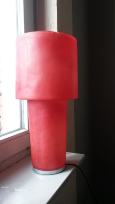 Table fiberglass lamp