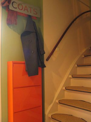 Coats and shoes storage