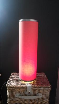Stand Red Lamp for Childeren's House Strekovacek