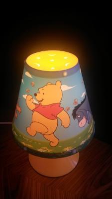 Fist lamp for first child in Strekovacek