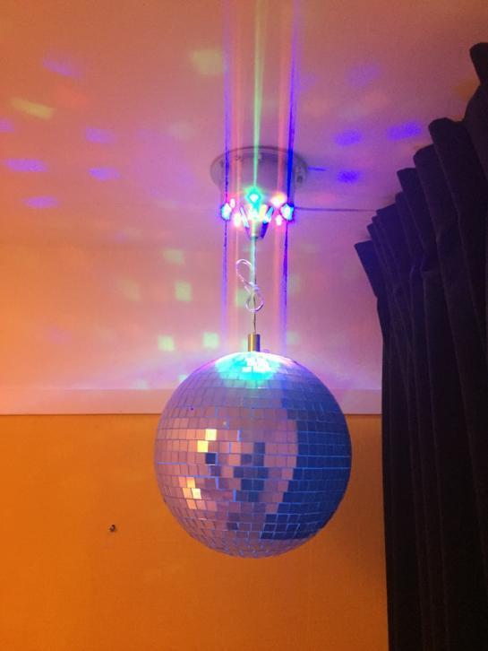 Disco ball for children in Strekovacek