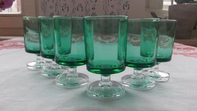 Luminarc France shoot glasses from 1970's.