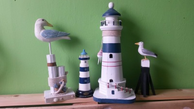 Maritime decorations for children's room