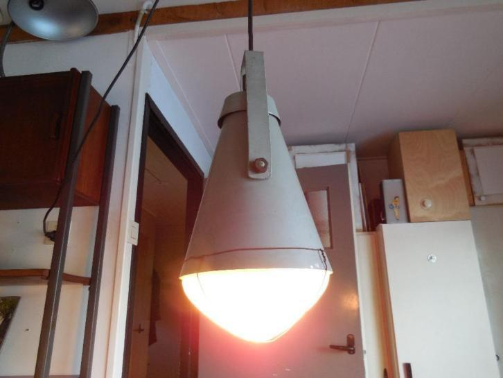Industrial Vintage Philips lamp