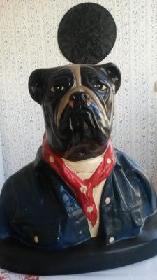 Bust of Bulldog