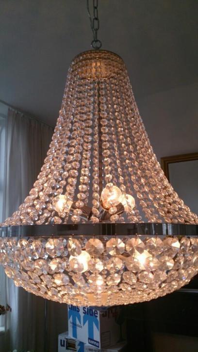 Antique, Crystal chandelier
