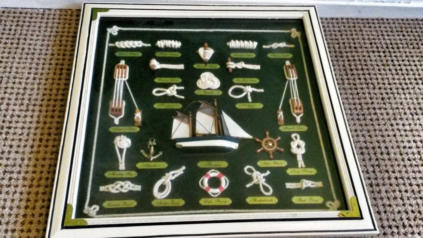Maritime items show case.