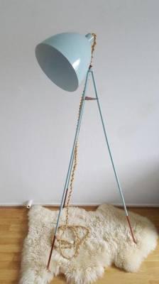 Tripod Floor Lamp in mint