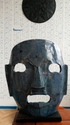 Mexican ceramics mask