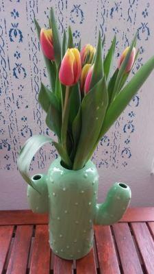 Hip Ceramics Cactus Vase
