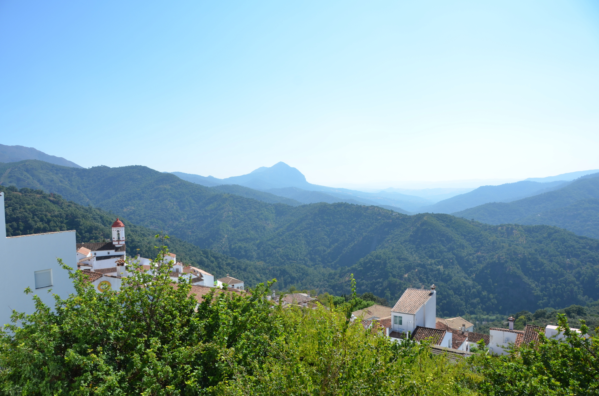 View of mountains of Andalusia
