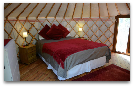 The Orange Yurt