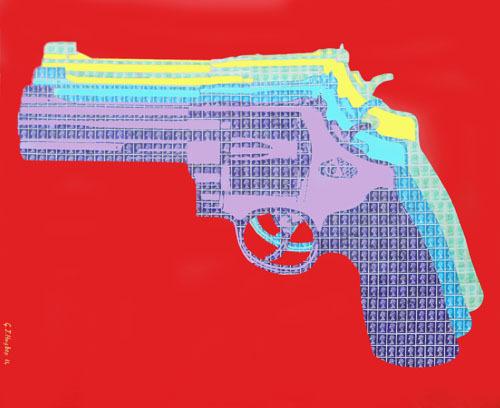 Warhol, gun,