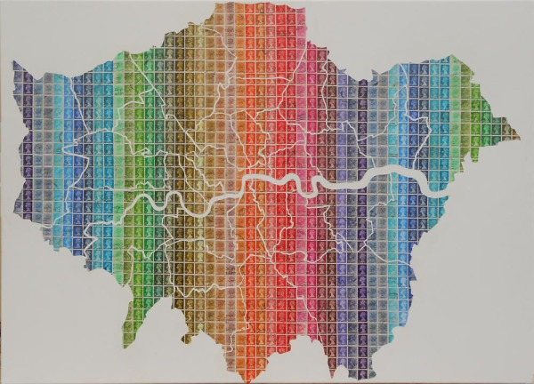 London, Map, Boroughs, city, capital