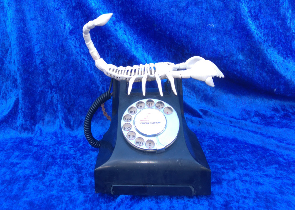 Scorpion, Salvador Dali, Dali, Lobster Telephone,