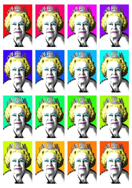 The Queen, Queen, Marilyn Monroe,
