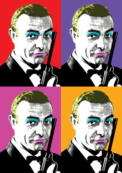 James Bond. Sean Connery 007