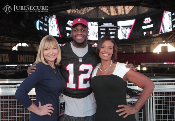 Official Event Launch w/Falcons player @ Mercedes-Benz Stadium