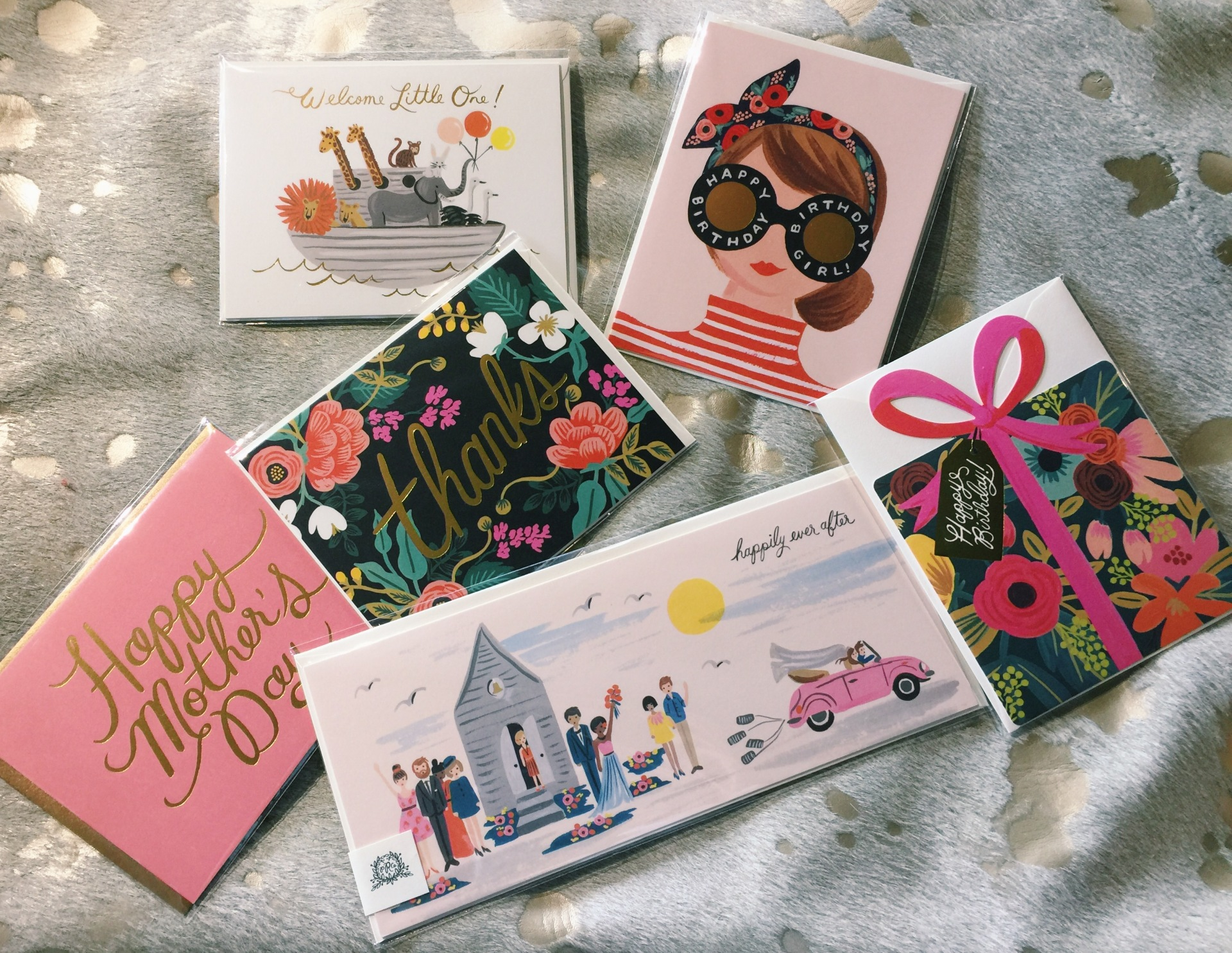 cards, gifts, letters