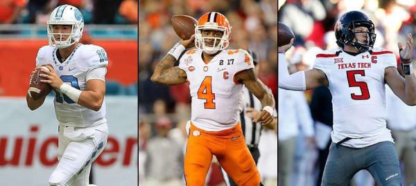 The 2017 NFL Draft QB Class