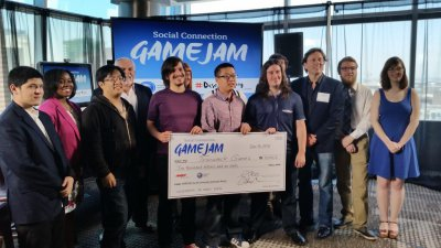 Trainwreck takes the grand prize in AARP Social Game Jam @ E3!