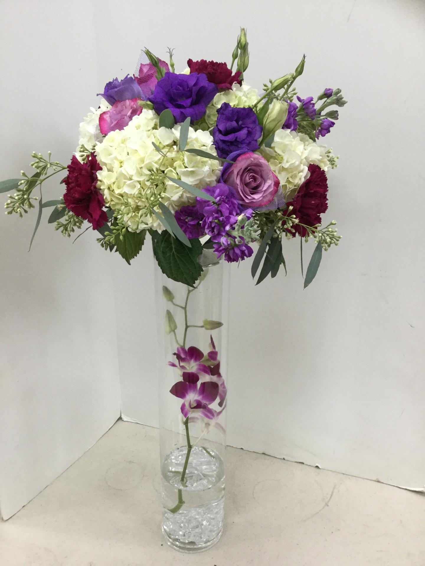 Centerpiece - Tall Vase
