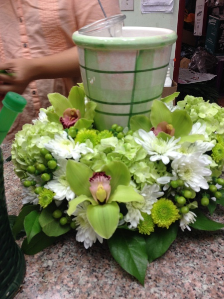 Funeral Urn Arrangement