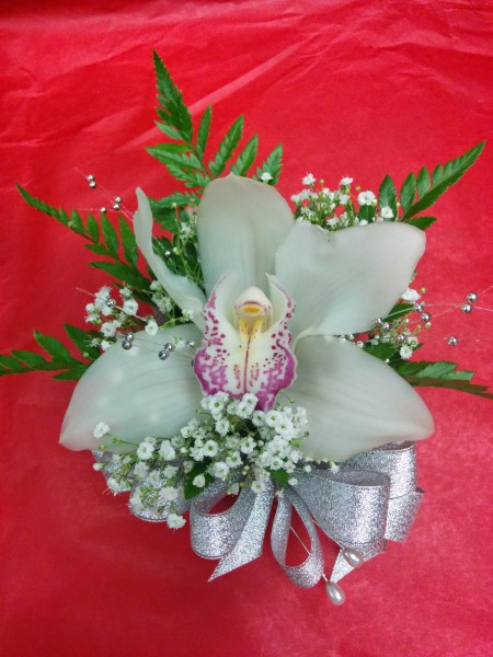 Cymbidium Orchid Corsage/Boutonniere