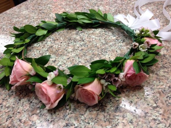 Flower Girl - Head Wreath