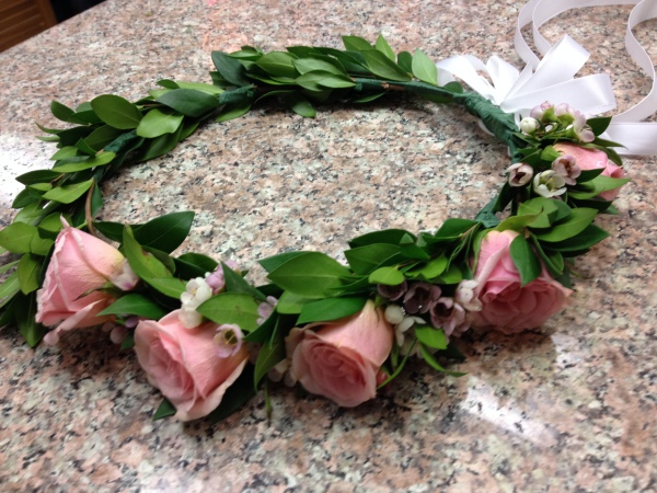 Flower Girl - Head Wreath