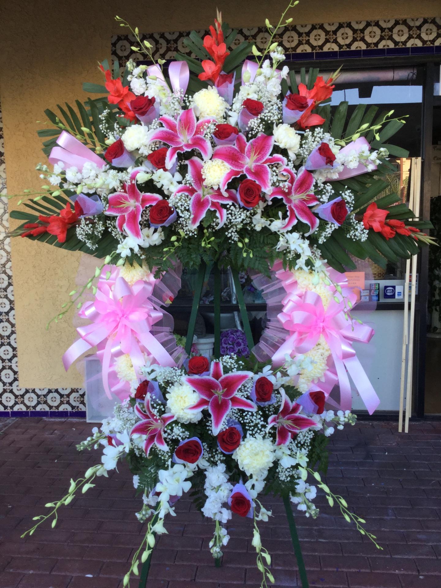 Funeral Wreath - Premium