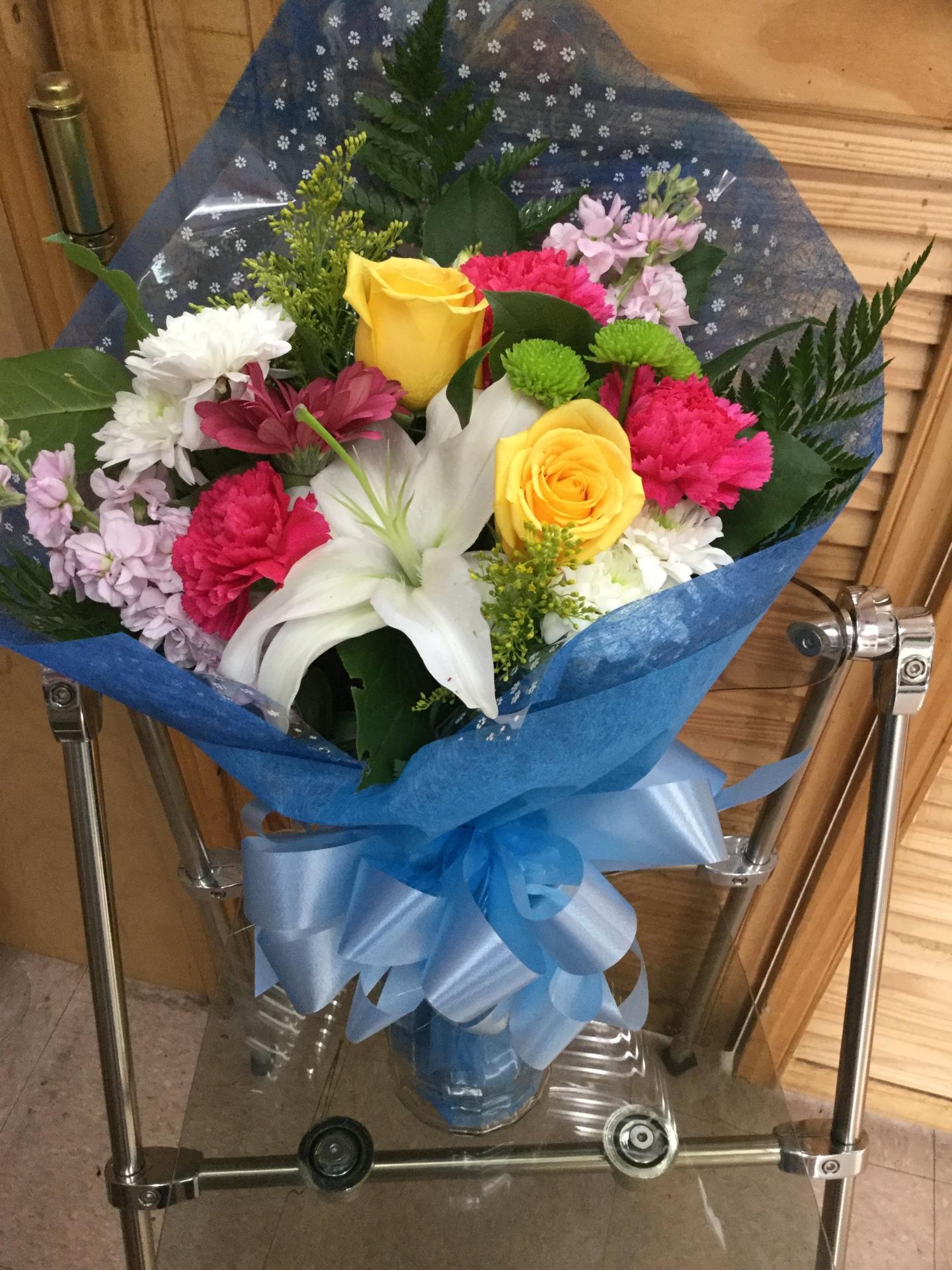 Mixed Wrap Bouquet