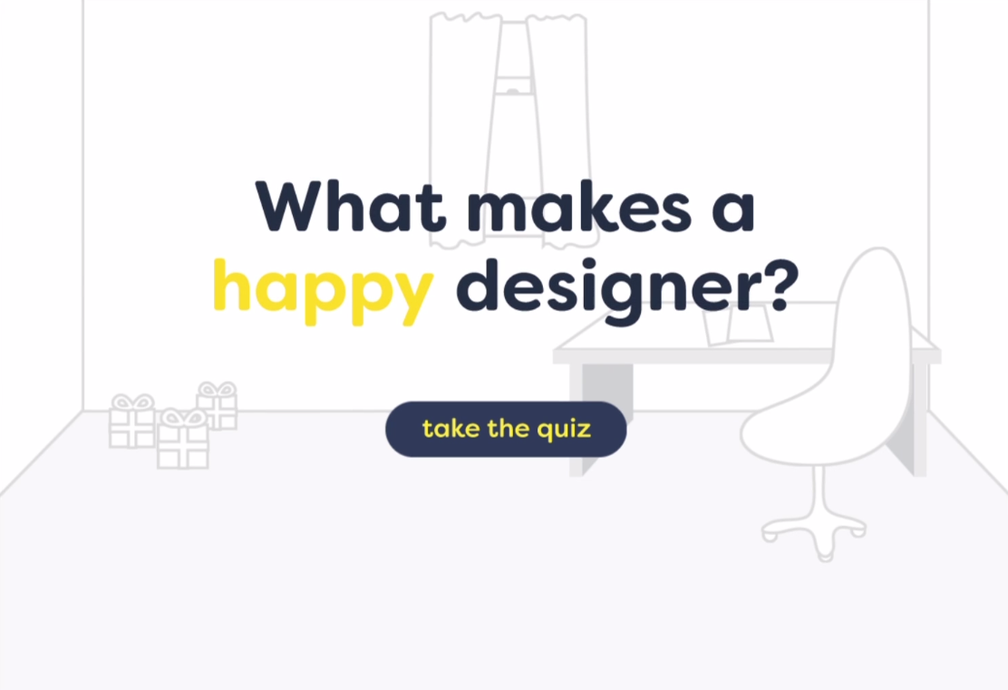 What makes a happy designer? Video