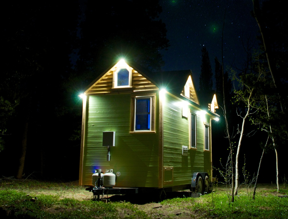 It's time to get settled into my 131 sq ft tiny house!