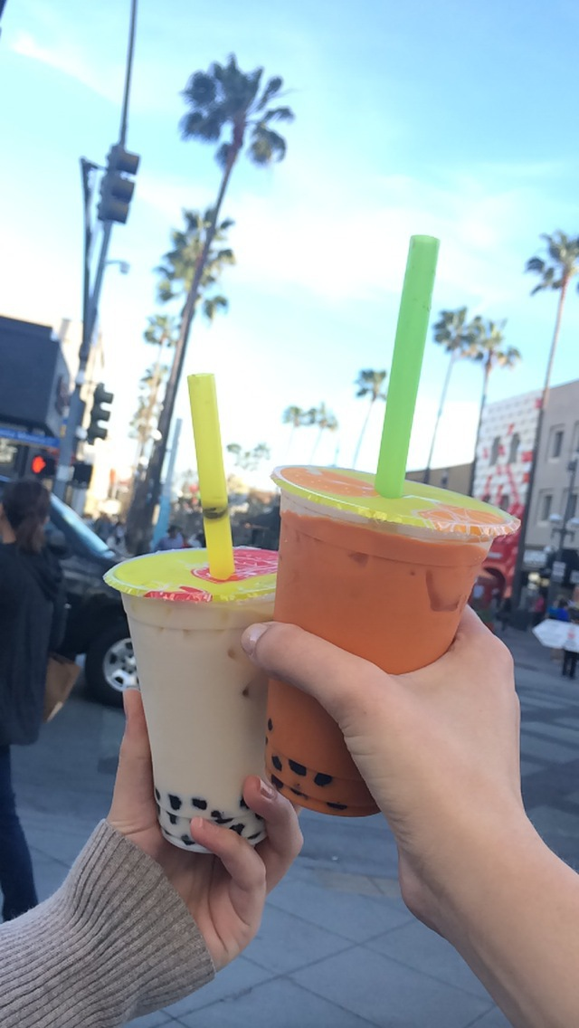 """Yes...Boba is one of my favorite things.  But I always only like to get it with friends."""