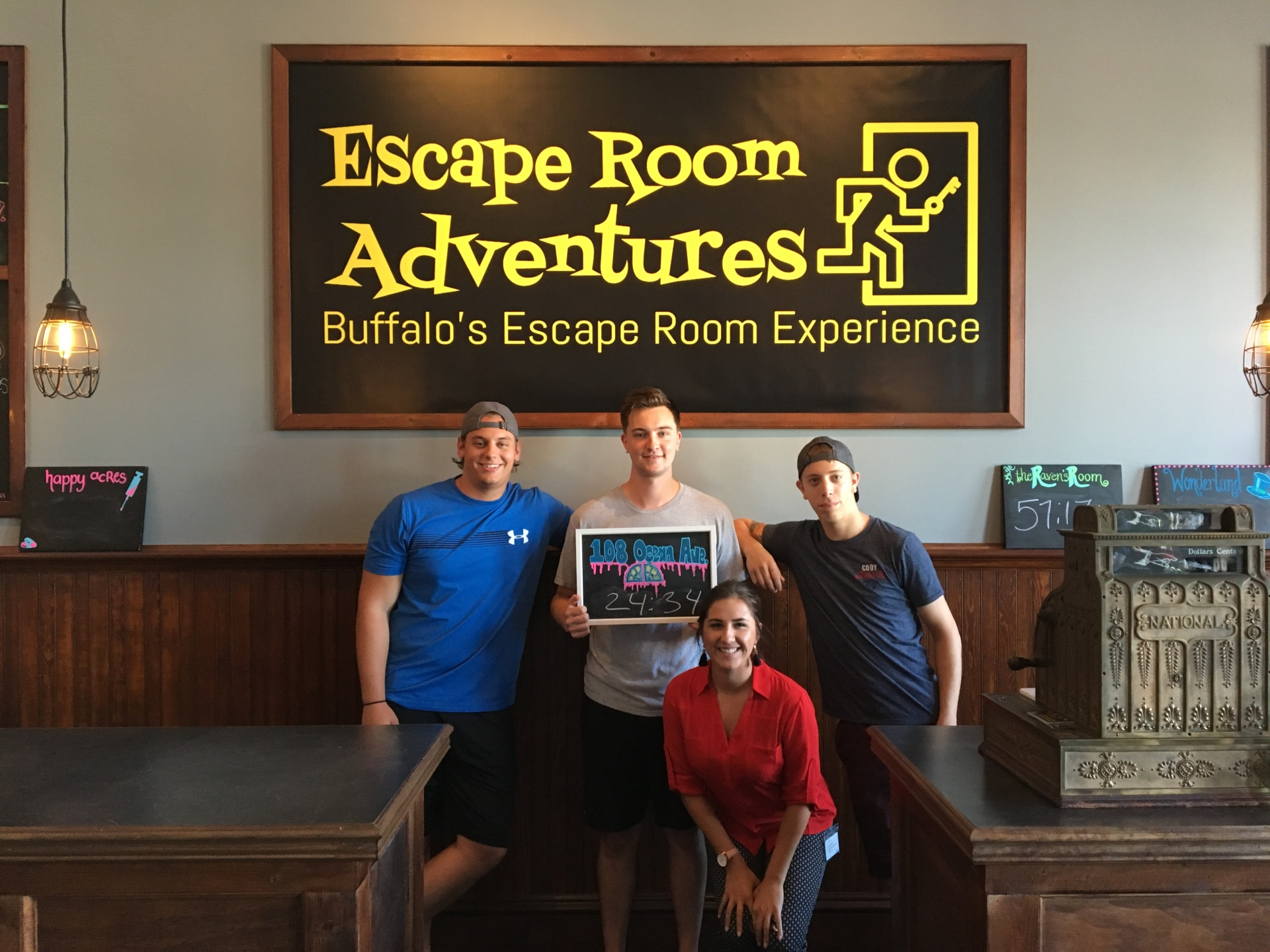 Escape Room Adventures WNY, Escape Room Buffalo, Escape Room, leader-board, fastest time, escape room in Buffalo, buffalo new york,