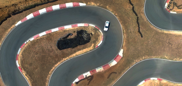 BMW drifiting con el campeon de A. de la Reina