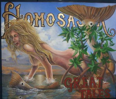"""Great Tales"" original painting"