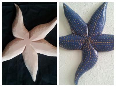 starfish,starfish paint,painting a starfish,