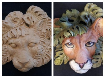 cougar,florida panther,panther painting,yuma,yuma panther,